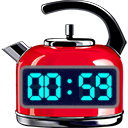 Red Hot Timer App Icon